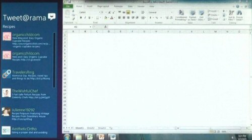 Windows 8 running Excel 2010