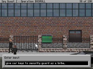 Screen shot showing the text parser interface