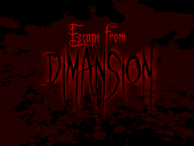 Escape from Dimansion title screen